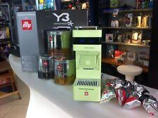 Macchina caffè illy Iperespresso Y3 NUOVA!!! Verde + promozione capsule omaggio
