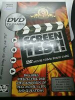 Screen Test DVD Board Game By Parker MGM Movies Films Quiz Trivia - XMAS - GIFT