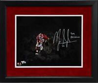"Mark Ingram Alabama Crimson Tide Framed Signed 11"" x 14"" Spotlight Photo & Insc"