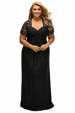 Black formal dress size 18