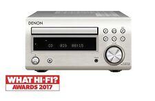 Denon DM41DAB Micro DAB CD FM System Silver DM-41DAB