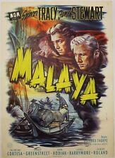Malaya, Originalplakat, Dt. EA 1955
