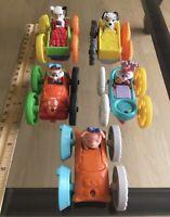 McDonalds Happy Meal Tiny Toons Looney Tunes Flip Car - Set of 5
