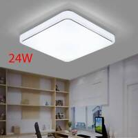 Square LED Ceiling Down Light 24W Panel Wall Mount Kitchen Bedroom Lamp Fixture