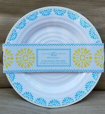 Sofie Conran Portmeirion Melamine Dinner Plates Set of 4 NIP