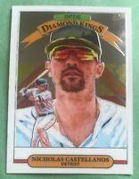 Nicholas Castellanos Diamond Kings 2019 Donruss Optic - Detroit Tigers