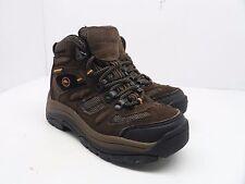 Outland Boy's Blue Ridge Mid Waterproof Hiking Boot Brown Size 13Y