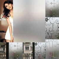 45CMx2M Frosted Bedroom Bathroom Glass Window Door Privacy Film Sticker PVC