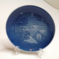 Bing & Grondahl Christmas Plate JULE AFTER 1977  Copenhagen Christmas B&G
