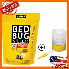 Bed Bug Killer, Diatomaceous Earth Insect Pest Control Indoor 2lb with Duster