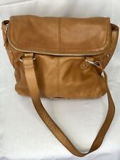 B. Makowsky Camel Brown Shoulder Bag