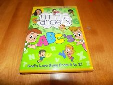 LITTLE ANGELS ABCs Roma Downey Preschool Letters ABC Learning Christian DVD NEW