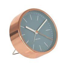 Karlsson Mínima Reloj despertador azul único Mesita De Noche Dormitorio moderno