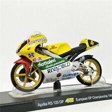 Leo 1:18 MotoGP ROSSI Aprilia RS 125 GP 46 European GP WC 1995 Bike Model NIB