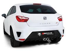 REMUS INOX échappement sport par 2x76mm Seat Ibiza 1.8 TSi Cupra À Partir De Bj. 2016