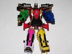 Power Rangers Super Megaforce Legendary Megazord 2013 w/ Helmet No Key