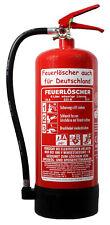 Feuerlöscher ABC Pulver CO2 Schaum Fettbrand 1,2,5,6,9,12 kg L Auto Prüfnachweis