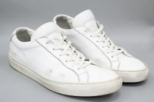 Axel Arigato Men's White Leather Sneakers Size 11 US