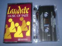 JACQUES BERTHIER MUSIC OF TAIZE cassette tape album F71