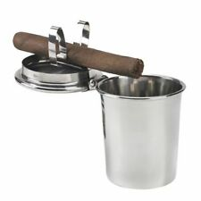Stinky Cigar Car Ashtray Collectible Stainless Steel