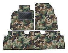Armee-Tarnungs Autoteppich Autofußmatten für Renault Megane Scenic ab 2004