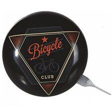 "Vintage Metall-Klingel Fahrradklingel Fahrradglocke Ø ca 8 cm ""Bicycle Club"""