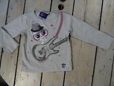 T-shirt manches longues gris imprimé ourson et guitare PETSHOP taille 5 ans