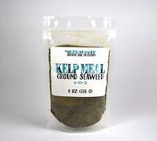 8 Oz Organic Kelp Meal 1-0-2 Natural Norwegian Seaweed Fertilizer