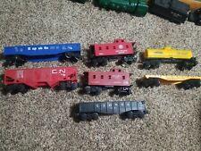 7 pcs Lionel Train Lot - 9136, 9013 CN,  X9066, 9060, 6142, 9050 Sunoco, 9020