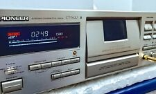 PIONEER CT- S620 Tape Deck 3 Heads Dolby BC HX PRO FLAT BLE Serviced Condition