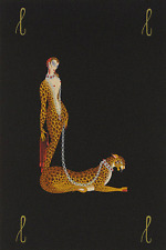 """ERTE SERIGRAPH, """"LETTER L"""" PENCIL SIGNED AND NUMBERED, LOOK AT MY STORE"""