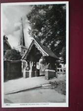 POSTCARD RP LONDON HARROW CHURCH AND LYCHGATE
