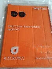 Nuevo Estuche Ipad 2 Naranja función de sueño, caso de Naranja agradable