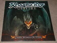 Rhapsody of Fire-Dark Wings of Steel - 2013 2 X LP RED VINYL-LIMITED-NEW & SEALED