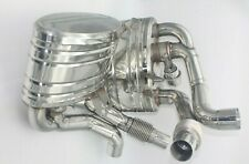 PORSCHE 911 997 Carrera Valvetronic Stainless Steel Valved Exhaust Silencers Set