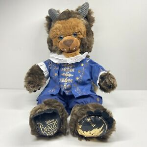 Disney Build A Bear The Beast With Ballroom Outfit Plush Beauty and The Beast