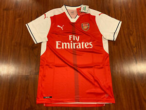 2016-17 Puma Arsenal Men's Home Soccer Jersey Large L Gunners