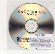 (FE621) Canterbury, Saviour - DJ CD