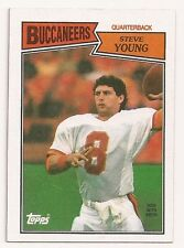 1987 Topps #384 STEVE YOUNG Tampa Bay Buccaneers MINT Football Card Free S/H