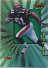 Takeo Spikes AUBURN 1998 Bowmans Best RC REFRACTOR /400