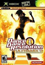 Dance Dance Revolution: Ultramix 3 (Microsoft Xbox) Disc Only, Tested, Fast Ship
