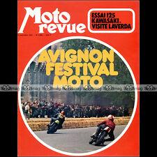 MOTO REVUE N°2089 GUZZI V7 S SPORT, KAWASAKI 125 TOURING, LAVERDA, SAARINEN 1972