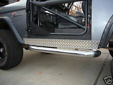 Early Bronco Diamond Plate Rocker Covers 1966-1977 54""