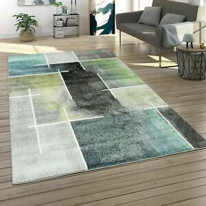 Modern Living Room Rug Large Soft Rugs Blue Grey Green Hallway Bedroom Carpets