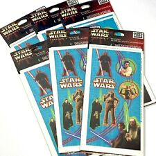 Star Wars Episode One Sticker Packs Obi Wan Kenobi Jar Jar 4 Sheets Set Of 6
