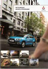Prospekt / Brochure Mitsubishi Modellprogramm 09/2010 i Colt Lancer ASX Pajero