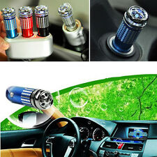Mini Auto Fresh Air Ionic Purifier Oxygen Bar Ozone Ionizer Cleaner For Car Hot