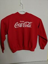 Vintage Coca-Cola Red Knit Crewneck Sweater Men s XL 5b043e00cfa0