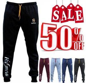 Mens HSK Fleece Joggers Trousers Cotton Track Suit Bottom Jogging Boxing Pants