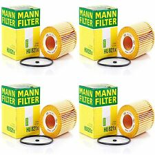 4 Pack Engine Oil Filter Mercedes-Benz Sprinter OE# 6421800009 MANN HU 821 X